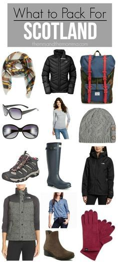What to pack for Scotland - What to wear in Scotland - Scotland travel