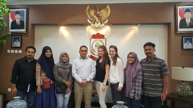 In Makassar, UN Ambassador Meet  the Mayor Danny