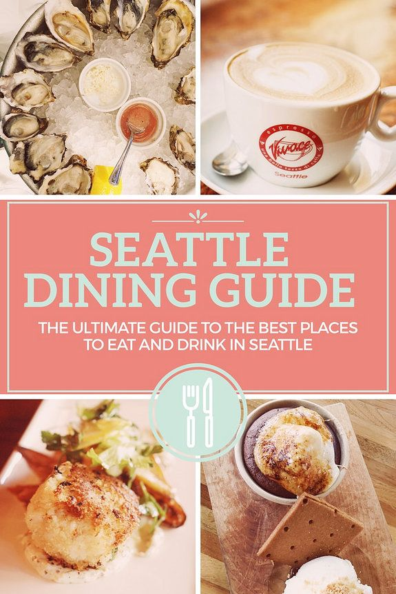 Seattle Dining Guide: the ultimate guide to the best places to eat and drink in Seattle, Seattle Travel, Seattle Food, What to eat in Seattle, Best food in Seattle. Seattle, Washington, USA