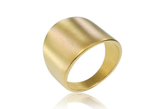 Geometric Tube Sophisticated  Wedding band in 14K by osnatharnoy, $747.00