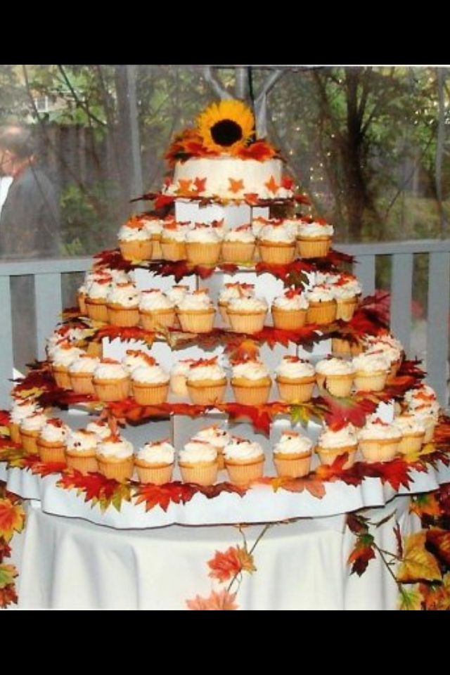 25 Best Ideas About Fall Wedding Cupcakes On Pinterest