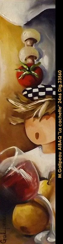 Marc Galipeau original acrylic painting on canevas #marcgalipeau #art #acrylicpainting #originalpainting #fineart #canadianartist #quebecartist #chef #multiart #balcondart
