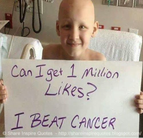 Beat Cancer Quotes: Can I Get 1 Million Like/share? I Beat Cancer #life