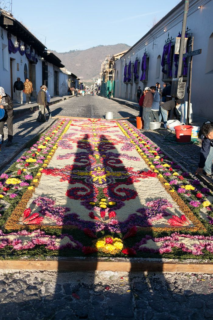 Alfombras de Semana Santa en Antigua Guatemala  Dreamorama  Antigua Guatemala Antigua Holy week