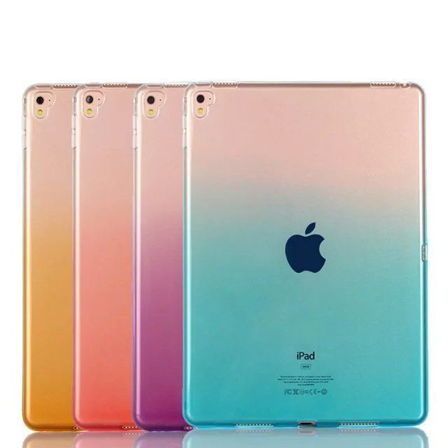 "Silicone Transparent  Untra Thin Soft TPU Case Cover For iPad mini 4 Pro 9.7"" #UnbrandedGeneric"