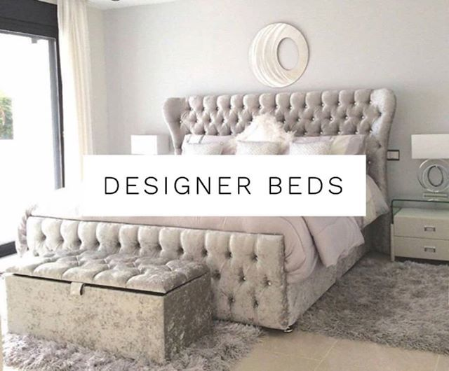 Designer Beds at HOS .. We have so many incredible designs you can tailor to you…