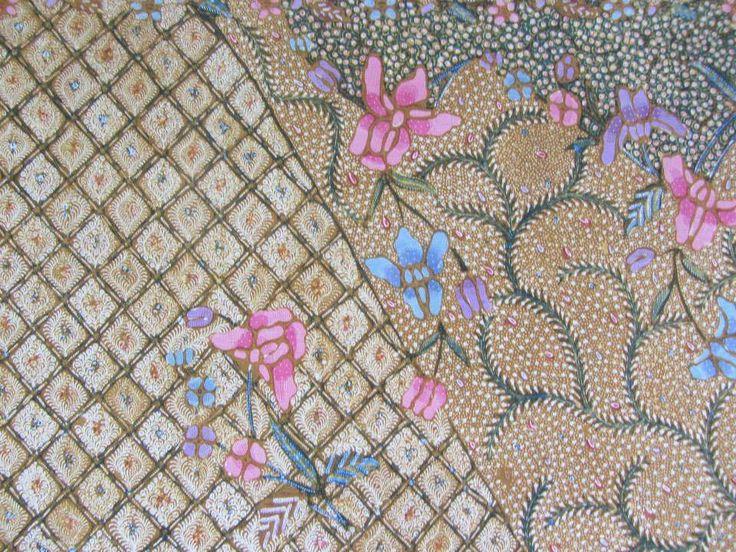 Detail of Demakan Batik. Part of pagi sore