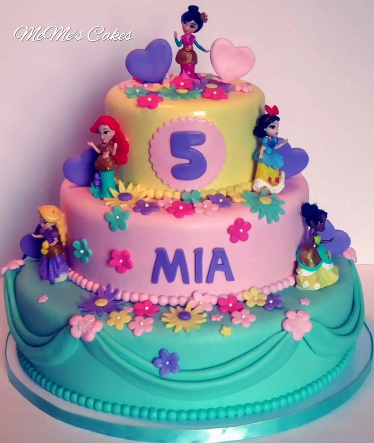 Best 25+ Little Girl Birthday Cakes Ideas On Pinterest
