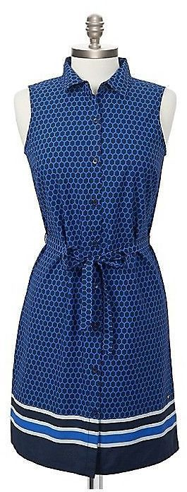 Tommy Hilfiger Women's Printed Shirt Dress