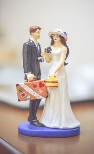Figurine de gâteau de mariage  Gâteaux de mariage et candy bar ...
