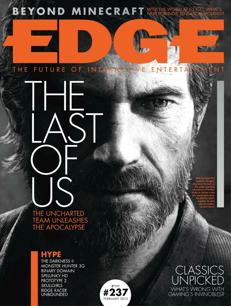 EDGE cover design