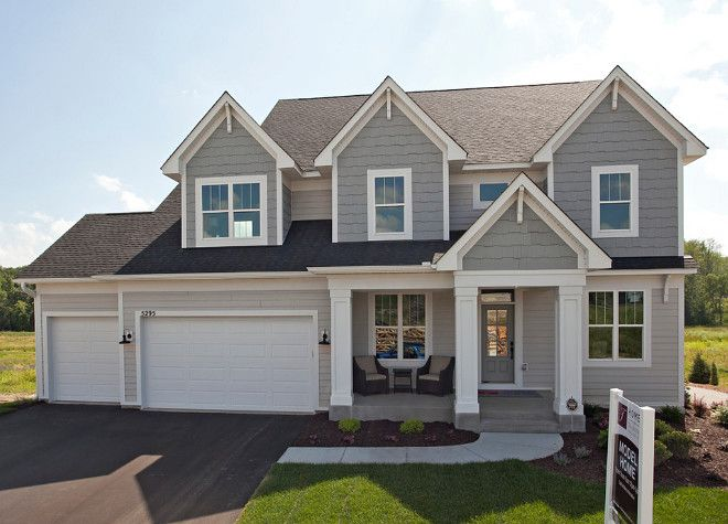 Exterior Of Homes Designs Pinterest House Paint Colors And