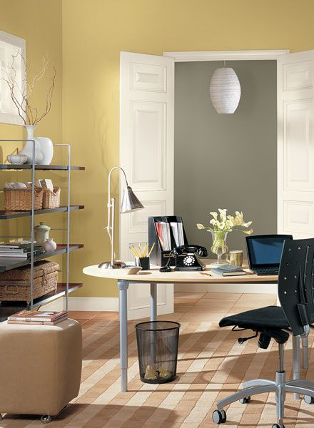 The color for north facing rooms