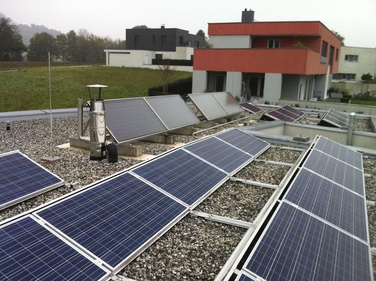 Blitzableiter - Solaranlage