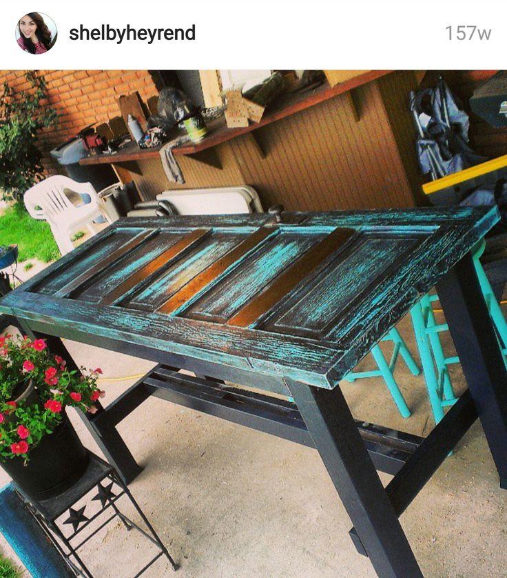 Kitchen Table Door: 25+ Best Ideas About Old Door Tables On Pinterest