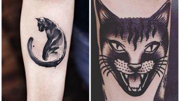 tatuaggi-con-gatti-neri
