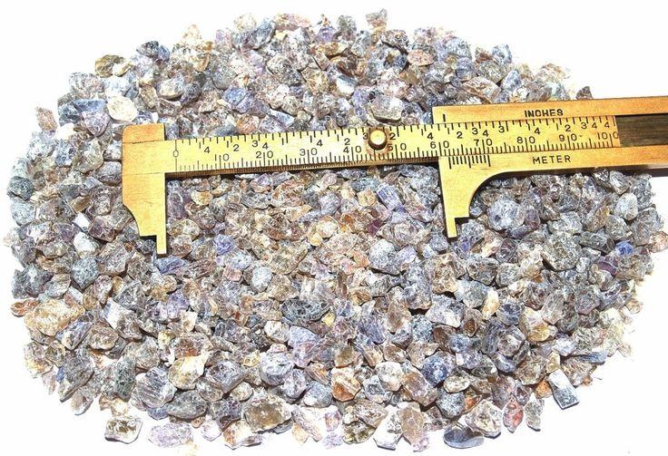 Tanzanite Crystals Rough Un-Heated Tanzania Up To 6mm 172 Grams