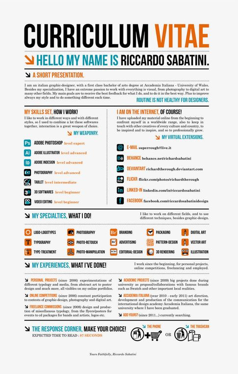 24 best Creative CVs images on Pinterest Resume design, Resume - social media resume example