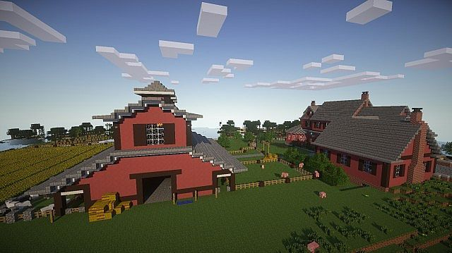 Horse Stables Minecraft Project