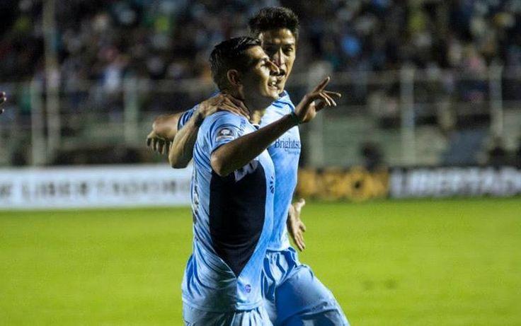 Ronald Eguino y el #Gol más importane de su vida #Bolívar #CopaLibertadores