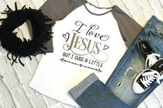 I love Jesus but I cuss a little....just $12.60 with a FB share this week only!