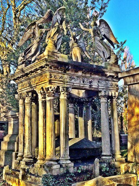 Kensal Green cemetery gravestones, London | Flickr - Photo Sharing!