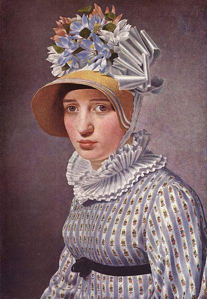 Portræt af Thorvaldsens elskerinde, Anna Maria Magnani  Ingen beskrivelse tilgængelig. ~ 1814