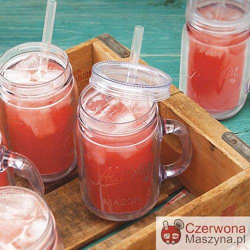 Kubek izolowany do zimnych napojów Aladdin Mason 470 ml, przezroczysty - CzerwonaMaszyna.pl