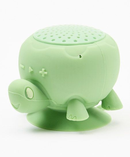 Shower singers rejoice! This rechargeable speaker system is 100 percent water-resistant and outfitted with suction cups to easily attach to your shower shelf or wall. Advanced Bluetooth compatibility allows you to connect your smartphone, laptop or tablet from up to 30 feet away.
