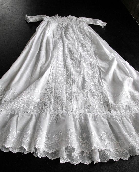 Vintage French Victorian Era Handmade by Vintagefrenchlinens
