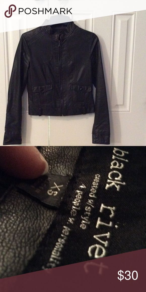 Leather Jacket, XSMALL Real leather Jacket size x small in good condition!! Wilsons Leather Jackets & Coats Utility Jackets