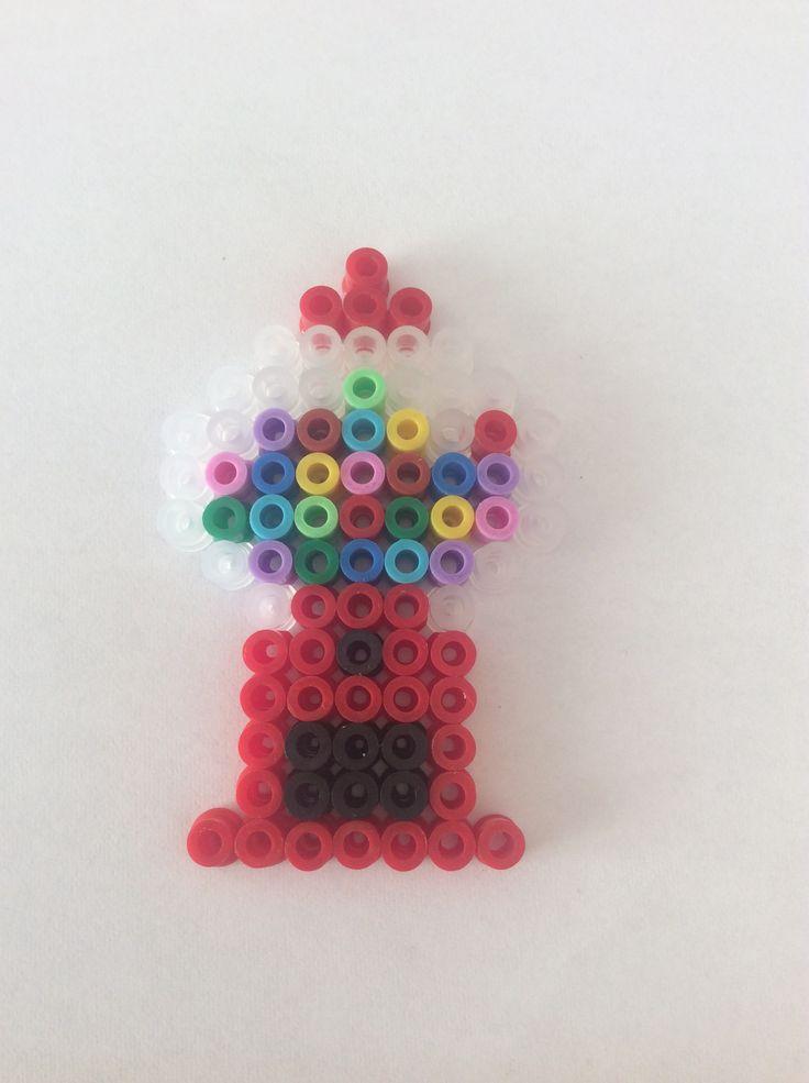 Hama bead Gum ball machine 14x9