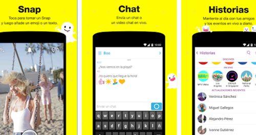 Crear cuenta y descargar Snapchat