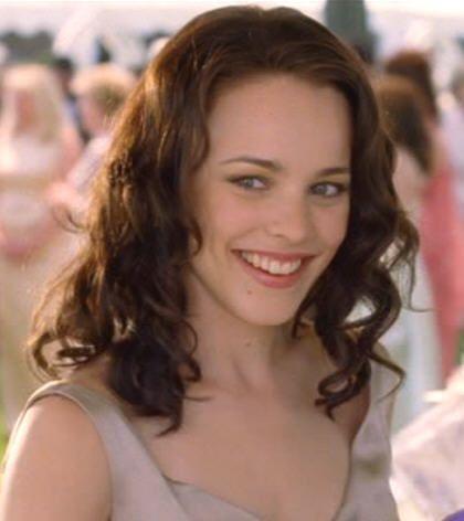 Rachel McAdams .. in Wedding Crashers...I've always loved that hair