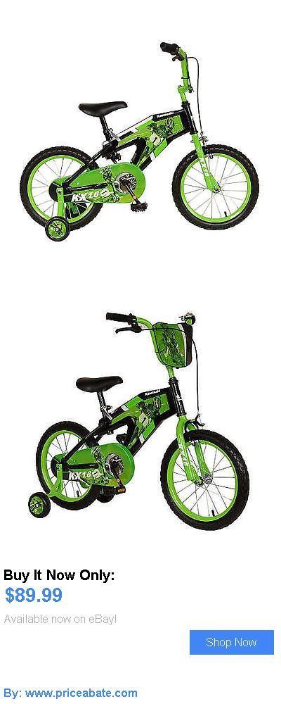 bicycles: Boys 16 Inch Kawasaki Bike BUY IT NOW ONLY: $89.99 #priceabatebicycles OR #priceabate