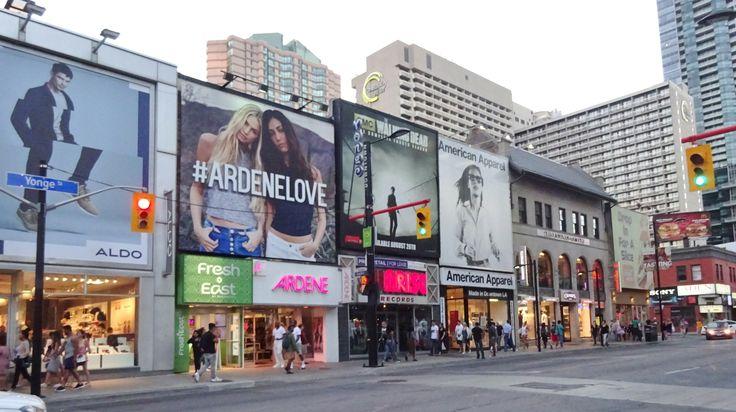 Downtown Toronto Yonge Street