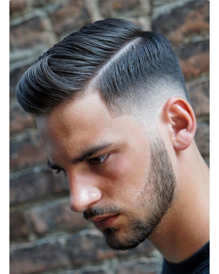 Side part haircut + quiff hairstyle #menshair #menshaircuts #menshairstyles #sideparthaircuts #sidepartmen #quiff #combover #midfade #shavedpart