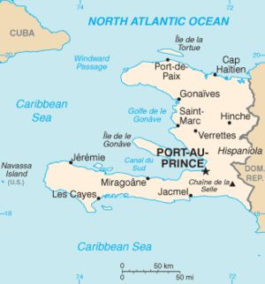 We work in four areas of Haiti: Anse du Clerc, Previle, Jeremie, Anse d'Hainault