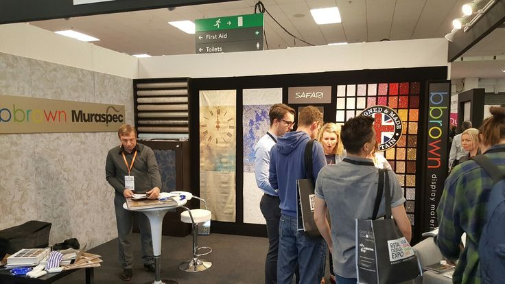 We've had such a lovely time at Retail Design Expo!