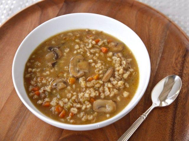 ... Soups, Barley Soup, Food, Mushroom Barley, Kitchen, Soup Recipes