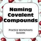Everything you need following your lesson on naming covalent compounds!  Two different worksheets and six 10-minute quizzes.  Each Quiz consists of...