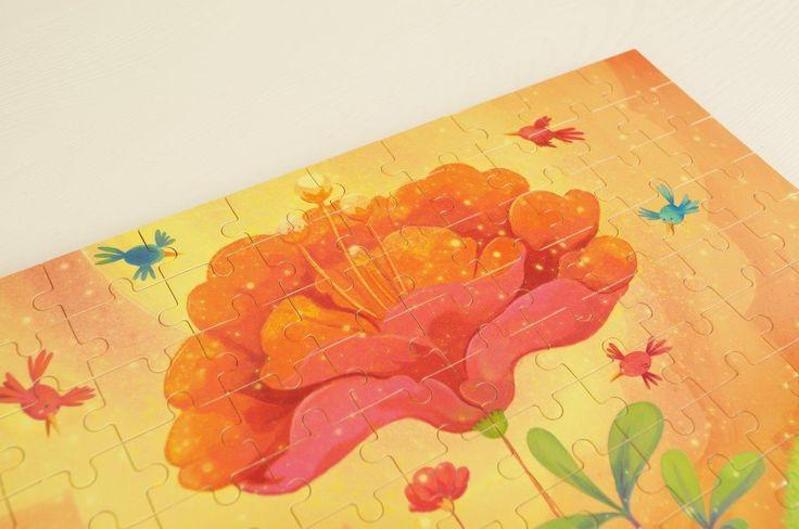 Wiosenne #puzzle drewniane #Vilac | Vilac wooden puzzles | #WyjątkowyPrezent