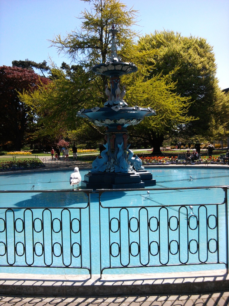The Peacock Fountain in the Botanic Gardens has always been my special symbol representing my new beginnings in my new home city.