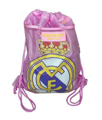 Real Madrid Gymbag Sport Rosa Mochila Saco Bolsa Bag backpack Pink