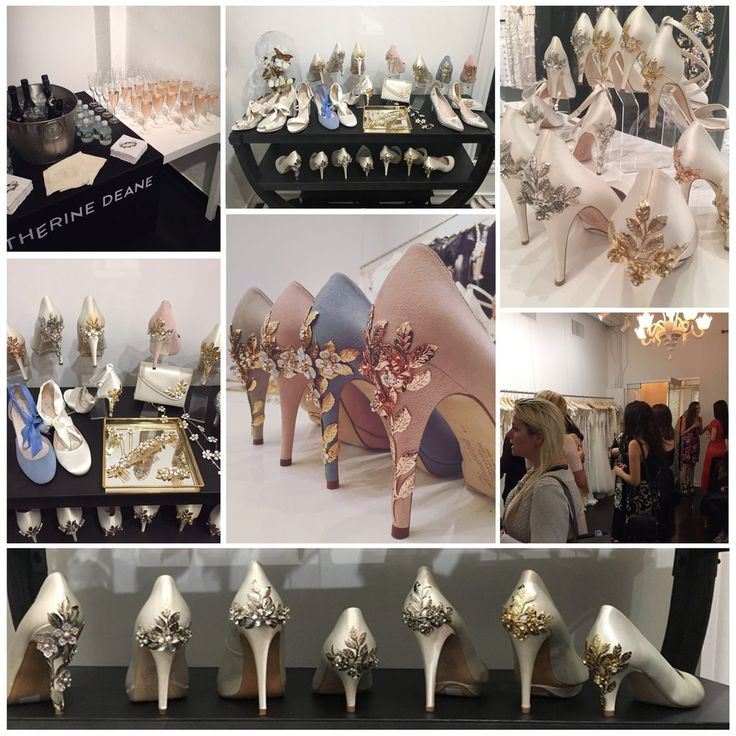 Thank you to all our brides who visited the Harriet Wilde showroom, it was a pleasure to meet you and to show you our collection of shoes and bridal accessories. We were over whelmed by the reaction to our hand embellished heels, the new rose gold embellishments have been extremely well received.