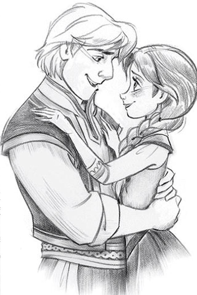 Kristoff and Anna better end up together in the end of the new movie Frozen because I won't be happy with any other ending  :)