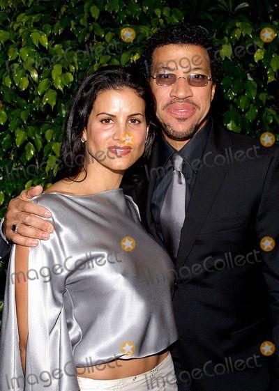 "Lionel Richie's Current Wife | Johnson, ""Magic"" Johnson, FRIARS CLUB Photo - Lionel Richie and Wife ..."