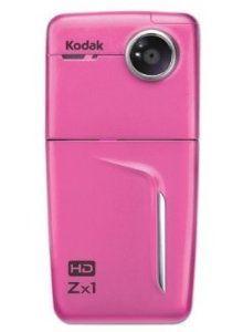 Kodak Zx1 HD Pocket Video Camera, Pink