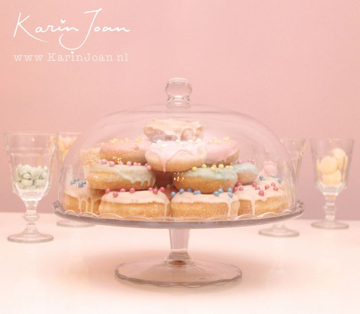 Karin Joan: Pastel mini-Donuts Taart /pie
