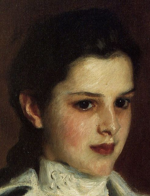 By John Singer Sargent  Flickr: kruzito_357 - anyone else think this looks like kristen stewart?